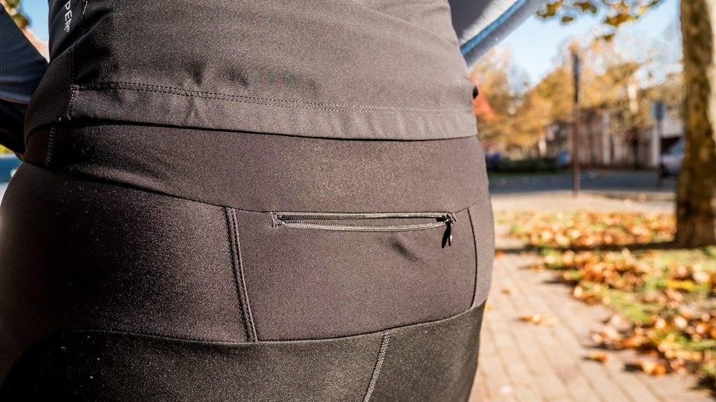 Gore wear collant R3 windstopper poche