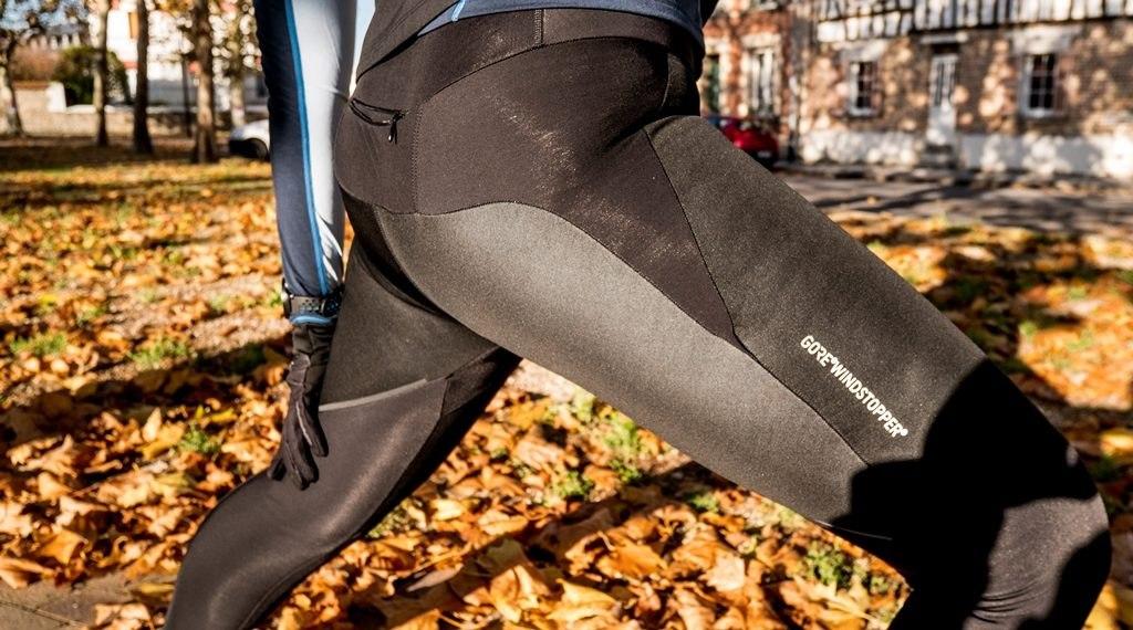 Gore wear collant R3 windstopper tissus