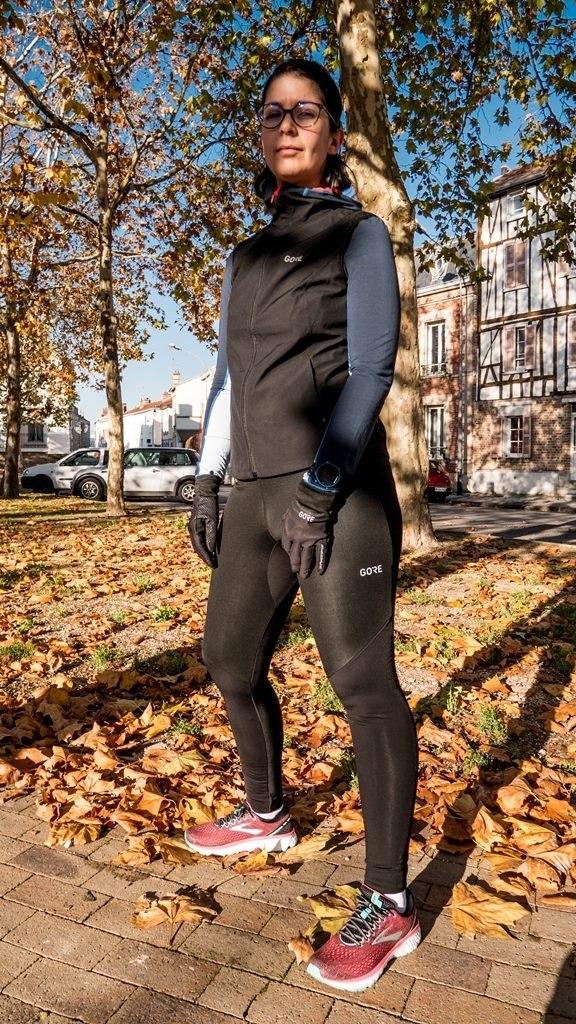 Gore wear gilet R3 windstopper entier