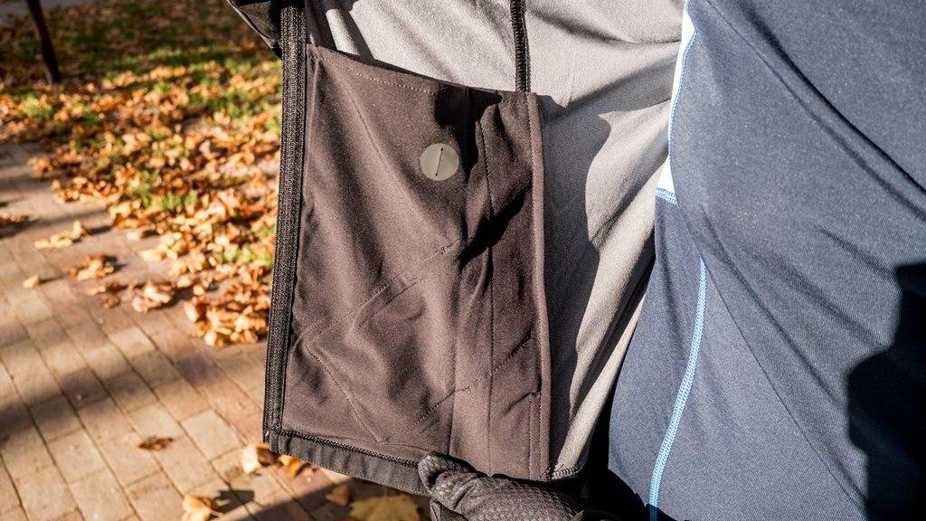 Gore wear gilet R3 windstopper poche