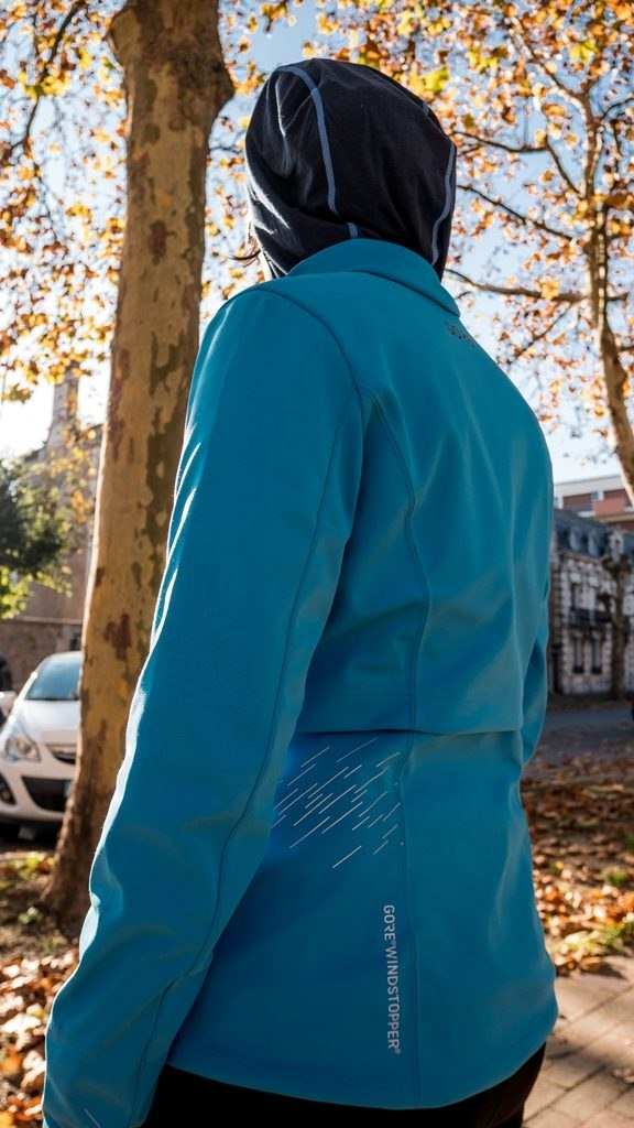 Gore wear veste R5 windstopper dos
