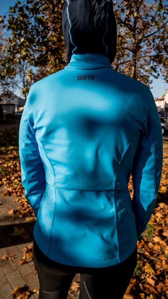 Gore wear veste R5 windstopper dos