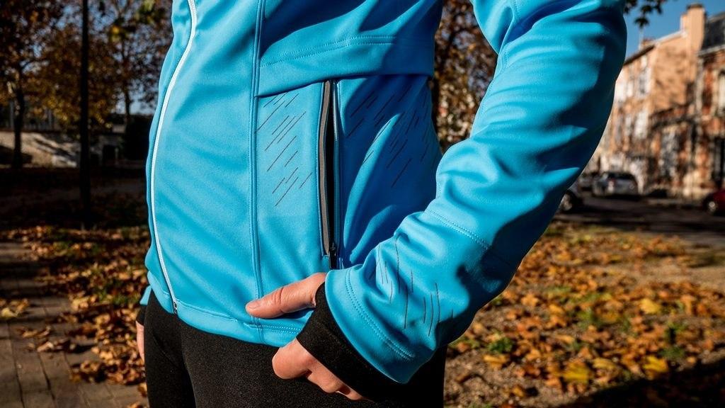 Gore wear veste R5 windstopper poche exterieure