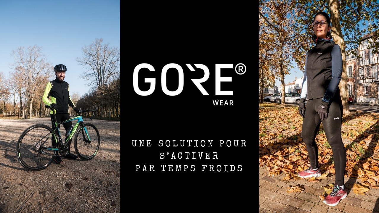Gore Wear : une solution pour s'activer par temps froids
