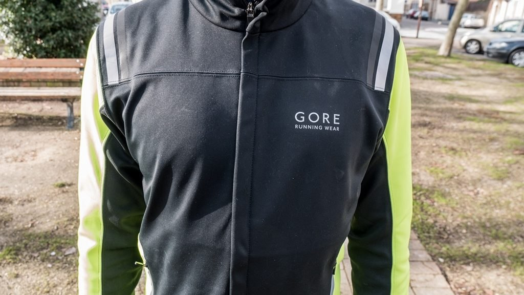Gore wear veste mythos windstopper devant