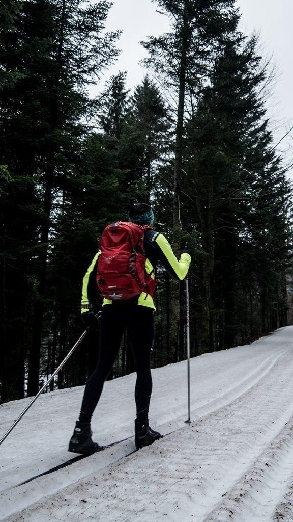 Pierre en ski de fond