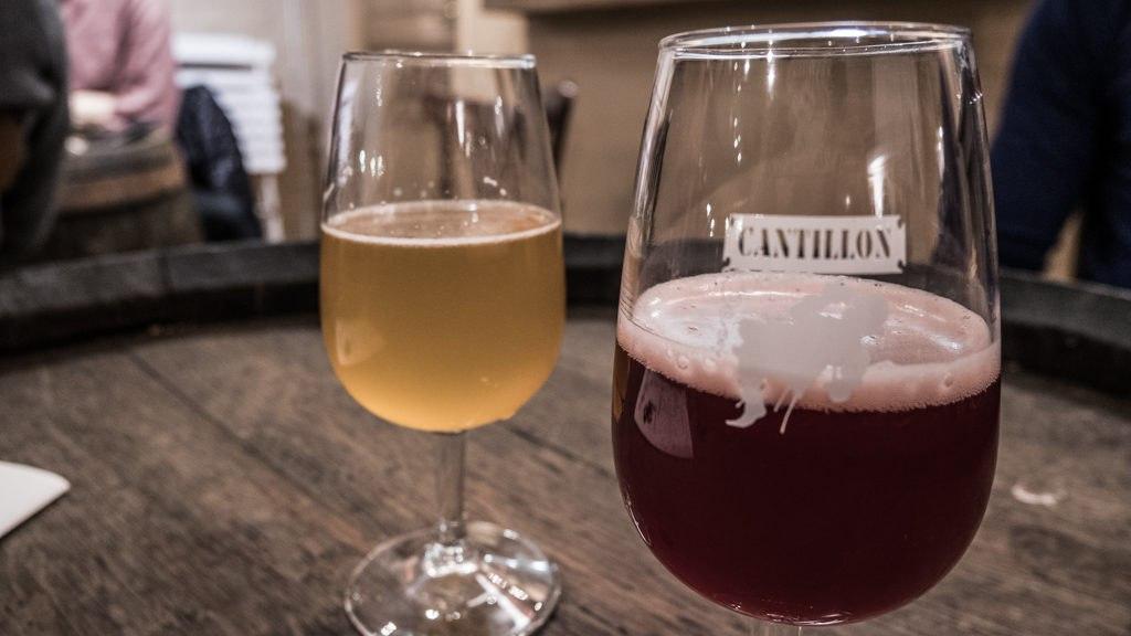 Dégustation biere Cantillon Bruxelles
