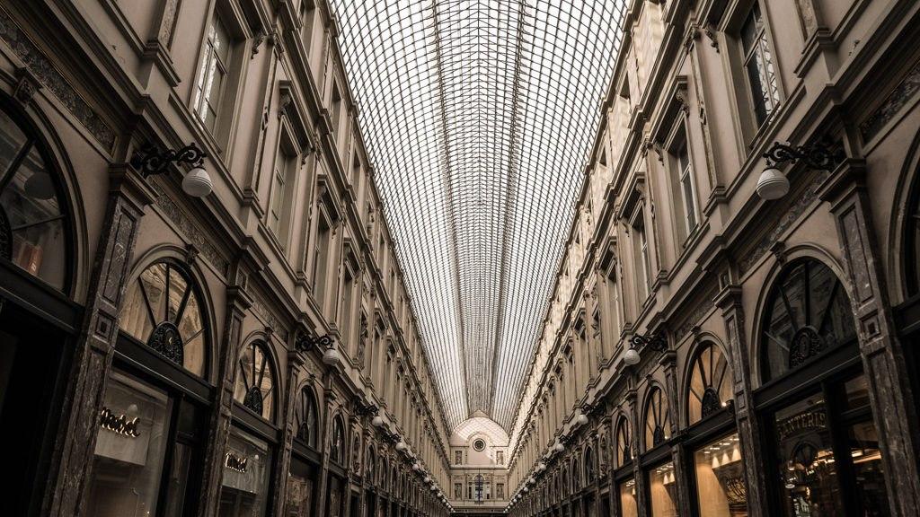 Galerie de la Reine visiter Bruxelles