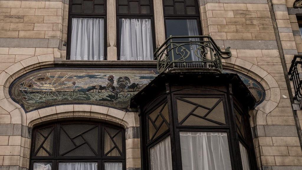Façade Art nouveau bruxelles