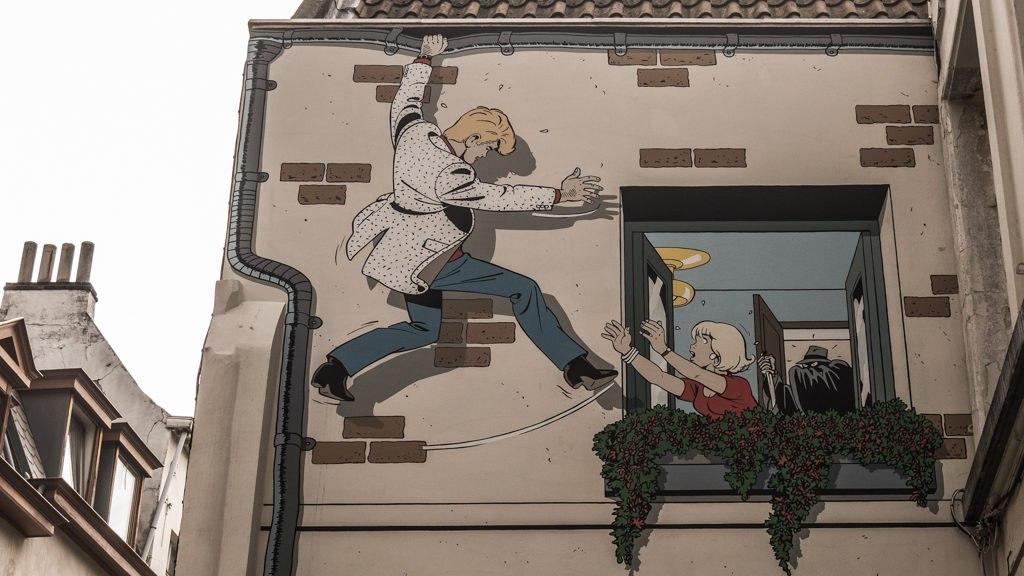 Street Art BD bruxelles