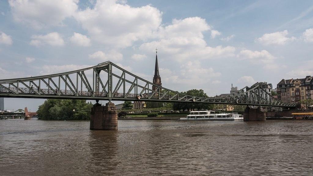 Pont Eiserberg visite Francfort