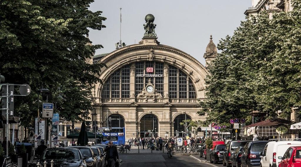 Gare pour visiter Francfort