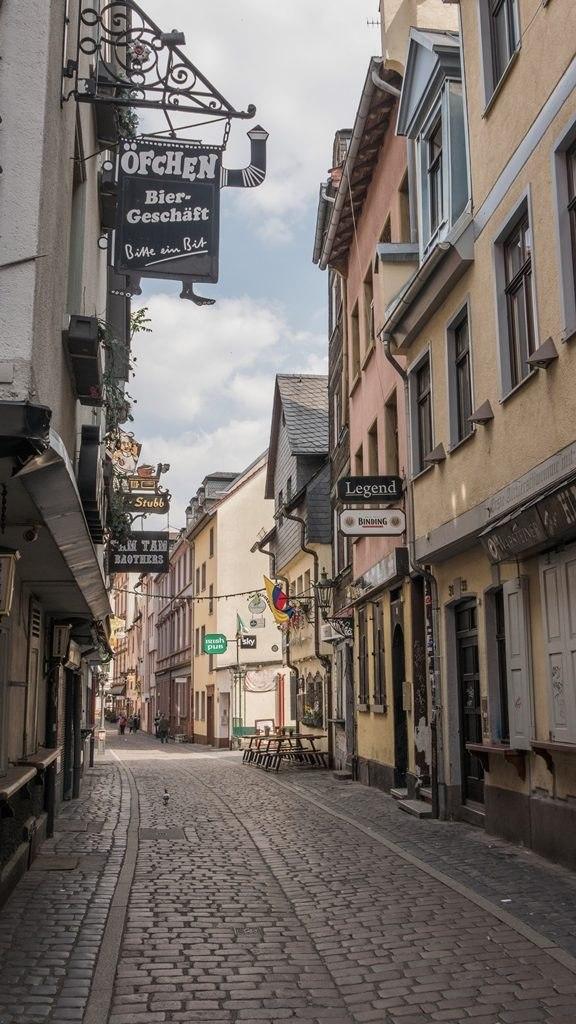 Saschsenhausen visiter Francfort