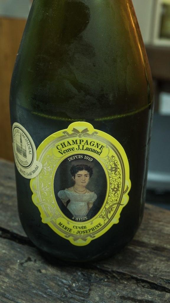 Veuve Lanaud degustation Marie Josephine