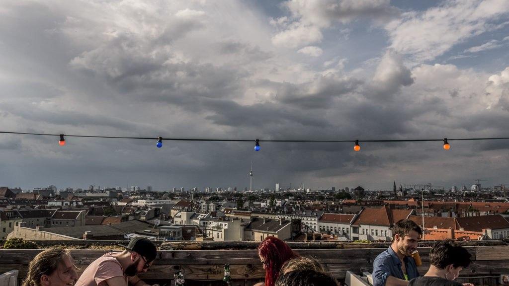 Klunkerkranich terrasse Berlin