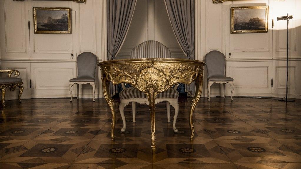 Intérieur Palais Sanssouci