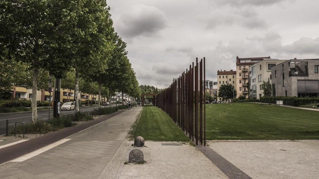 Matérialisation mur Berlin