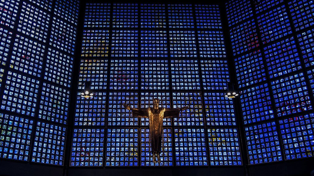 Intérieur église du souvenir Berlin