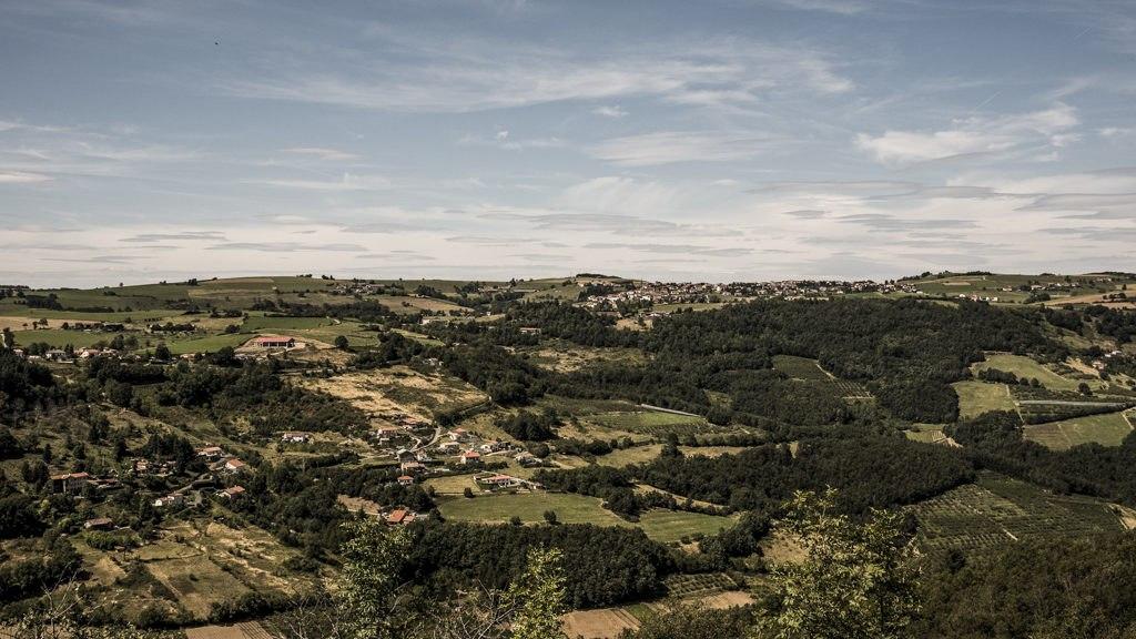 Point de vue randonnée dans les monts du lyonnais