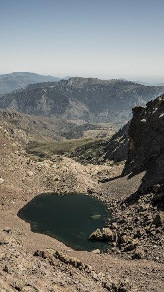 Lac du Cinto GR20 nord