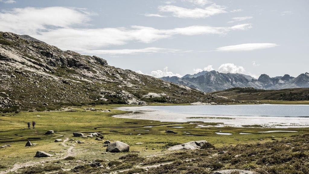 Lac de Nino GR20 nord