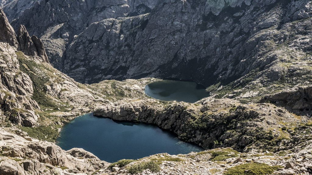 Lacs Melo et Capitello GR20 nord