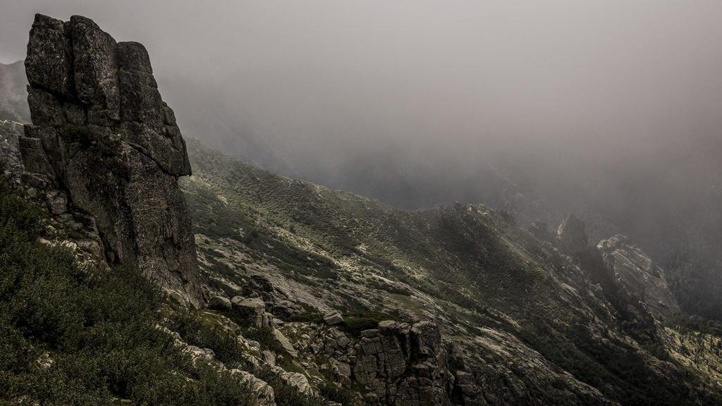 Dans le brouillard GR20