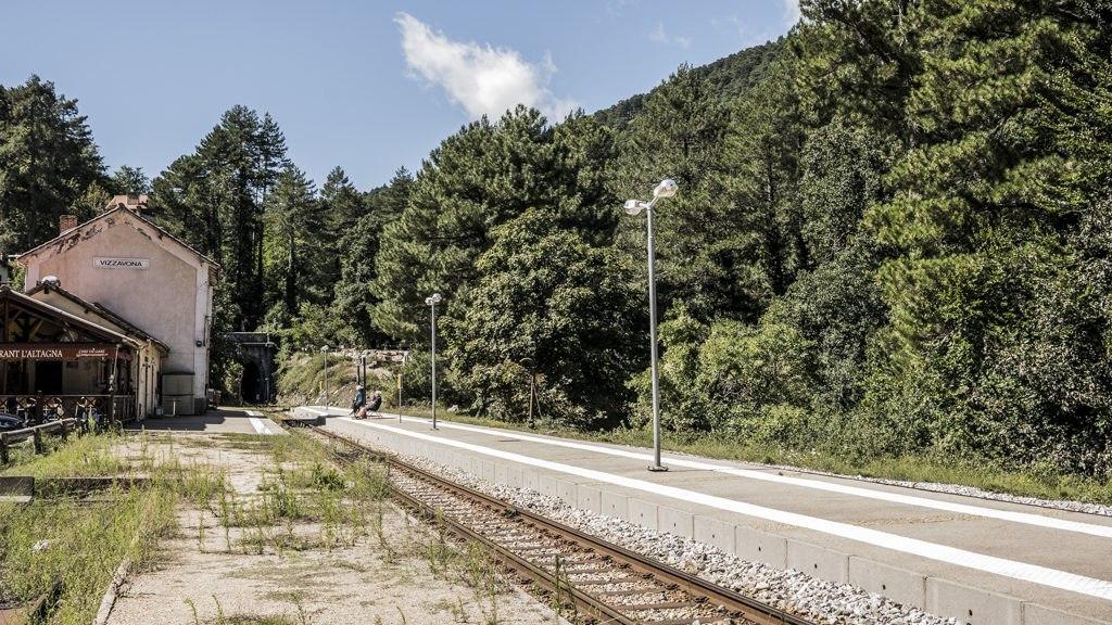 Gare de Vizzavona Corse